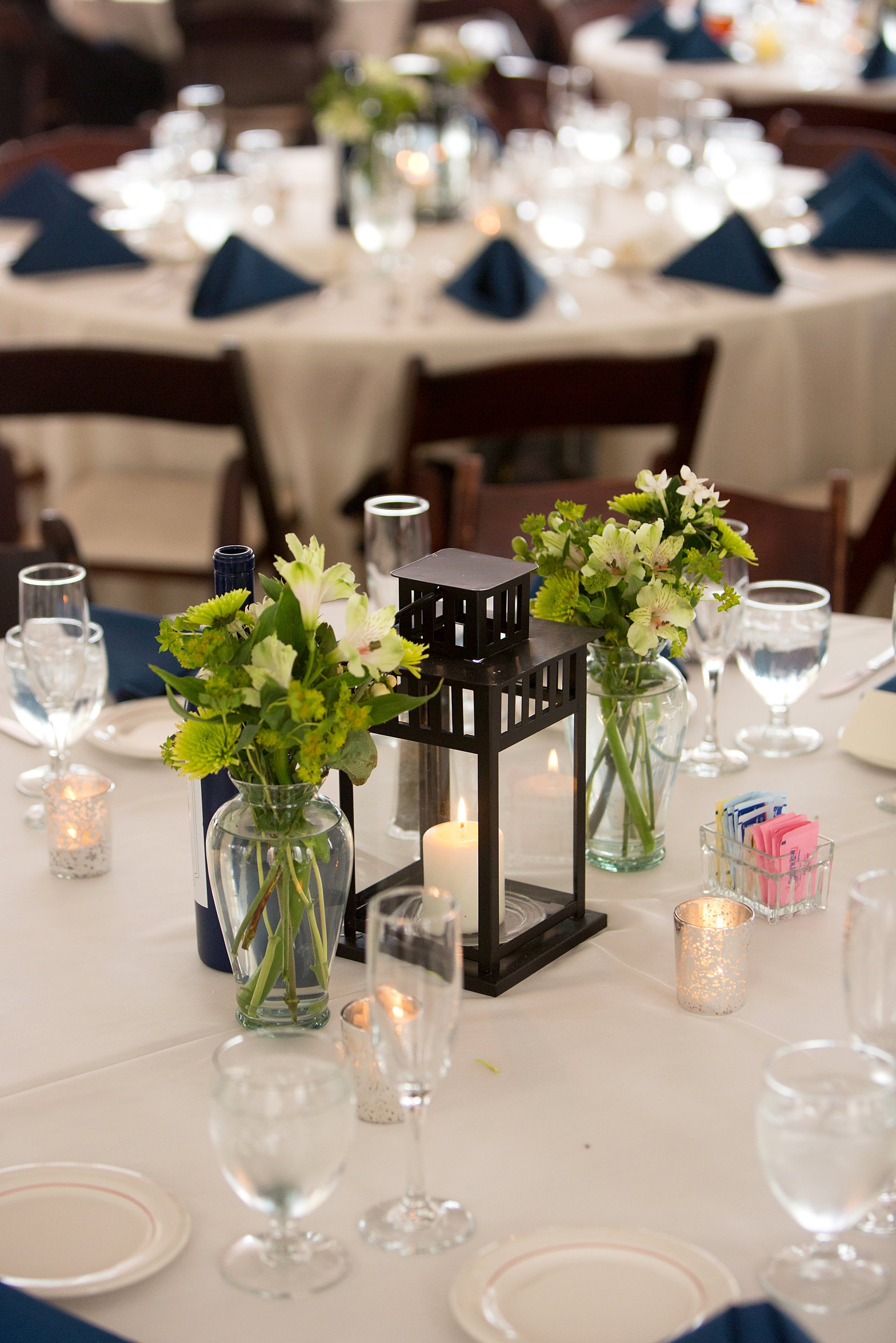 Candle and lantern wedding decor washington dc