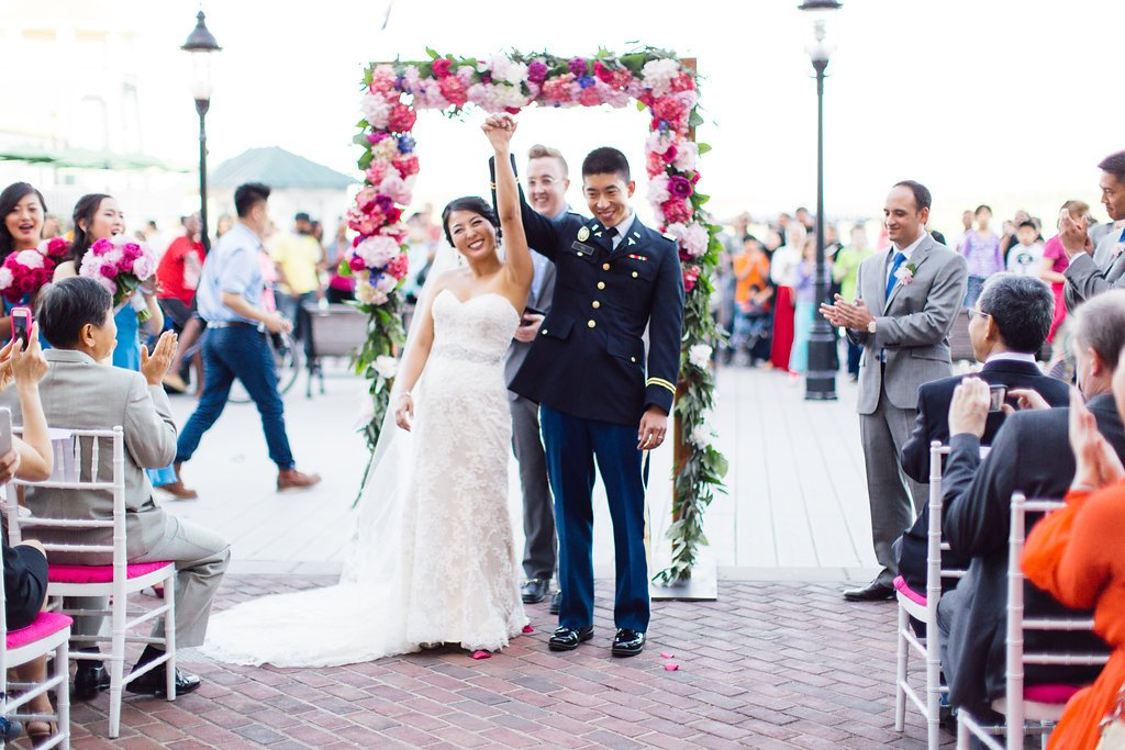 Torpedo Factory Art Center Wedding Ceremony, Bright Occasions Wedding Planning, Photography by Sincereli Photography