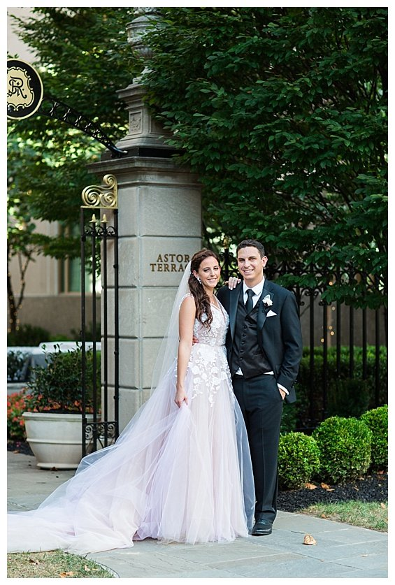 St. Regis Washington, DC Glamorous Sunset Wedding Featured on Carats & Cake, DC Wedding Planner Bright Occasions, Sarah Bradshaw Photography