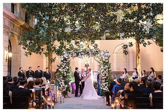 St. Regis Glamorous Sunset Wedding Ceremony, Washington, DC, Wedding Planning by Bright Occasions, Photography by Sarah Bradshaw Photography