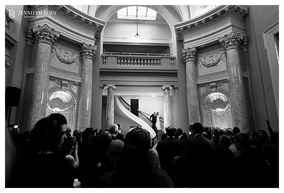 Washington, DC Wedding at Carnegie Institution for Science for Renuka & Eric