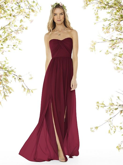 valentine's day bridesmaid dresses
