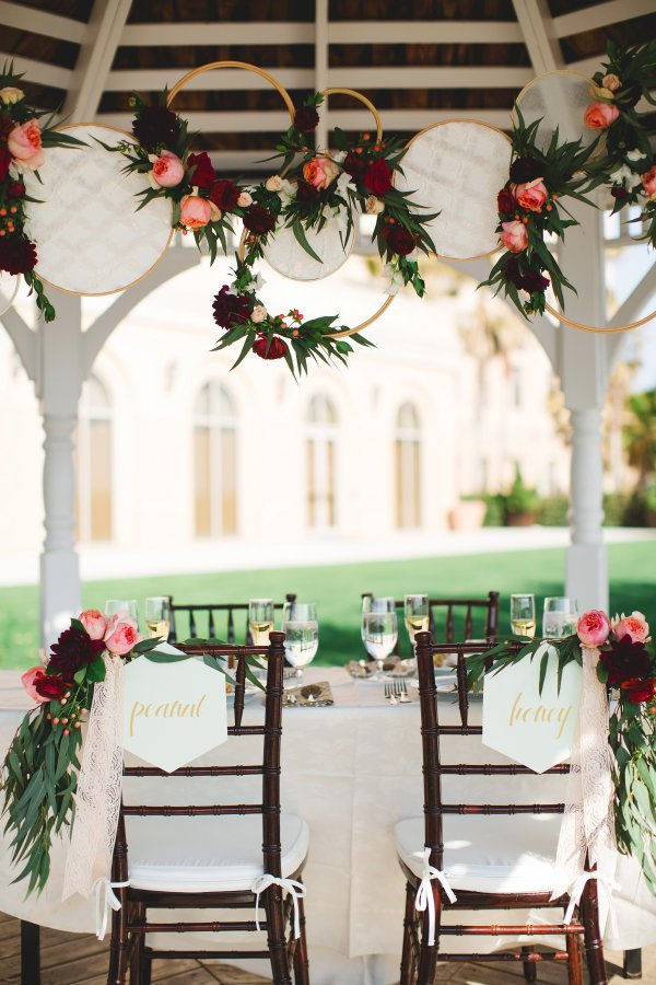 Pink and Red Valentines Day Wedding Inspiration, Table Details, DC Wedding Planner Bright Occasions