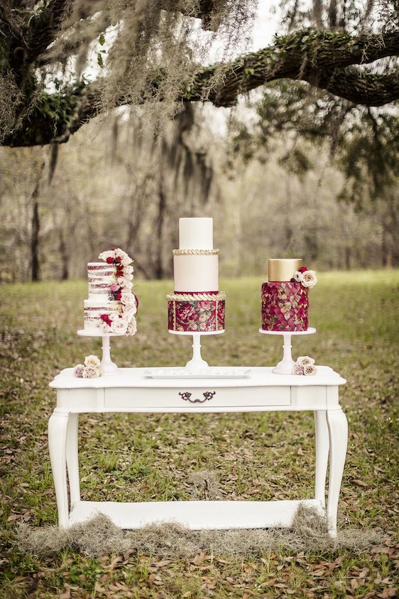 Pink and Red Valentines Day Wedding Inspiration, Wedding Cakes, DC Wedding Planner Bright Occasions