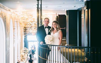 W Hotel, Washington, DC Summer Modern Wedding – Real Wedding for Carey and Robert