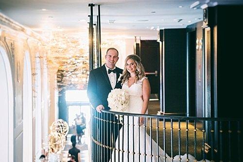 W Hotel, Washington, DC Summer Modern Wedding – Real Wedding for Carey and Robert