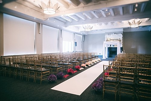 W Hotel, Washington, DC Wedding Ceremony and Reception – Real Wedding for Carey and Robert