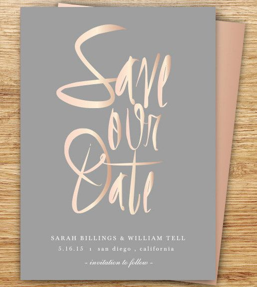 Rose Gold Wedding Inspiration, Rose Gold Invitation, DC Wedding Planner Bright Occasions