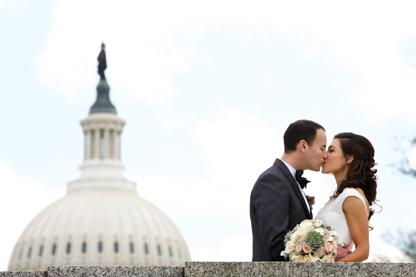 Stylish Spring DC Wedding at the Fairmont Hotel, DC Wedding Planner Bright Occasions, Photography by Deb Lindsey