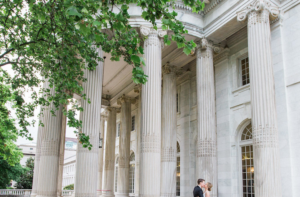 Copper and White DC Wedding Reception at the Daughters of the American Revolution (DAR) – Real Wedding for S&A Part 2