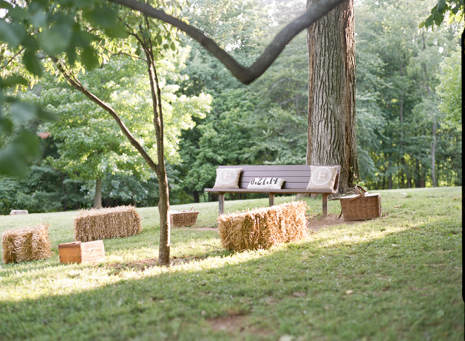 Picnic Weddng Inspiration. DC Wedding Planner Bright Occasions, Lisa Blume Photography.