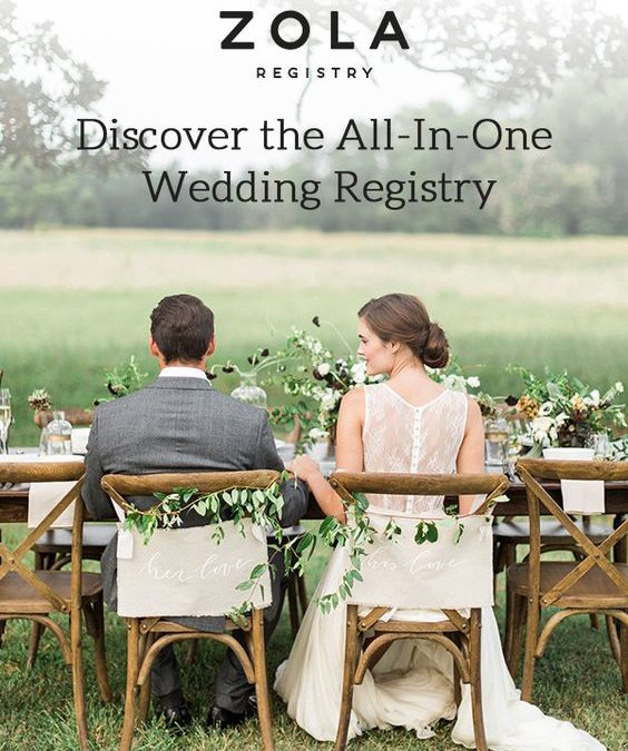 Creating a Wedding Registry