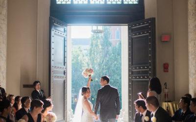 Elegant Summer DC Wedding at Carnegie Institution for Science – Real Wedding for J&M Part 1