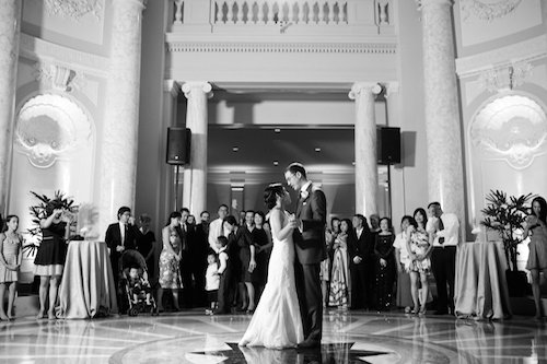 Carnegie Institution for Science elegant summer DC wedding reception, DC Wedding Planner Bright Occasions, Sarah Bradshaw Photography
