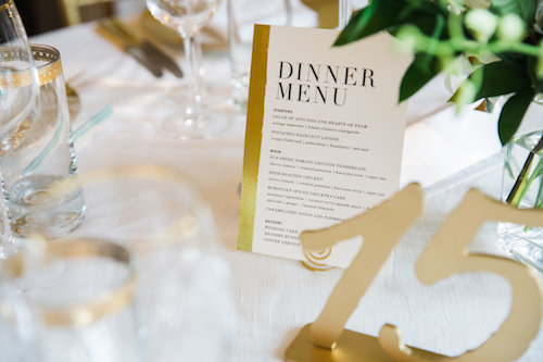 Modern Romantic Wedding Reception at Josephine Butler Parks Center, DC Wedding Planner Bright Occasions, Photo by Emily Clack Photography