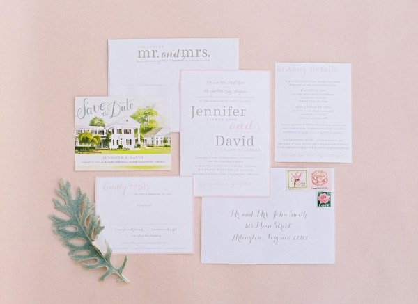 Blush and Gray Real Wedding Featured on Style Me Pretty, Bright Occasions DC Wedding Planner, Jodi and Kurt Photography