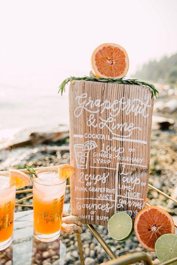Orange Wedding Inspiration, Cocktail, Wedding Planner Bright Occasions