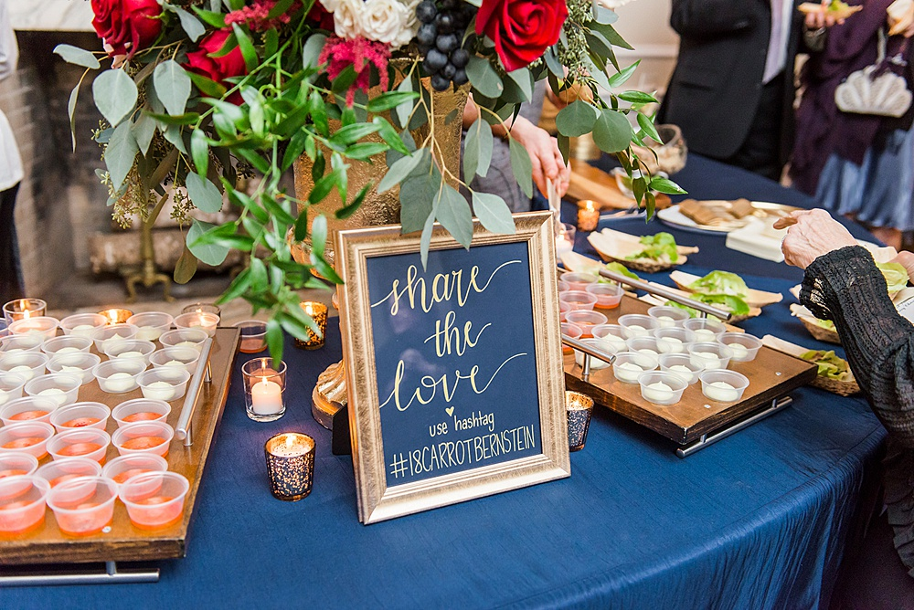 Woodend Sanctuary Wedding Reception, DC Event Planner Bright Occasions, Erin Kelleher Photography