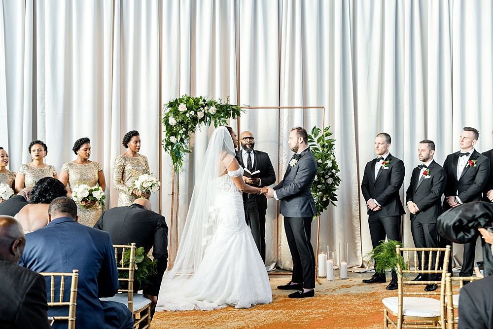 Arena Stage Wedding Ceremony in Washington, DC, Event Planning by Bright Occasions, Photography by Iris Mannings