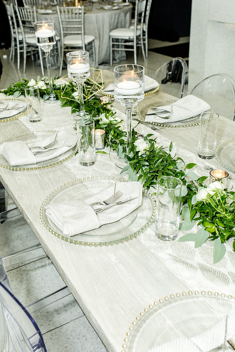 La Vie Wedding Reception in Washington, DC, Event Planning by Bright Occasions, Photography by Iris Mannings